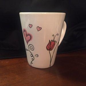 Starbucks 2006 tulips and lillies mug